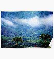 Manoa Valley Mist Poster