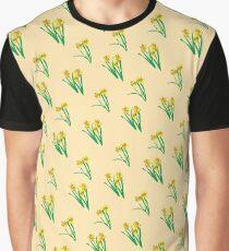 Daffodils Pattern Graphic T-Shirt