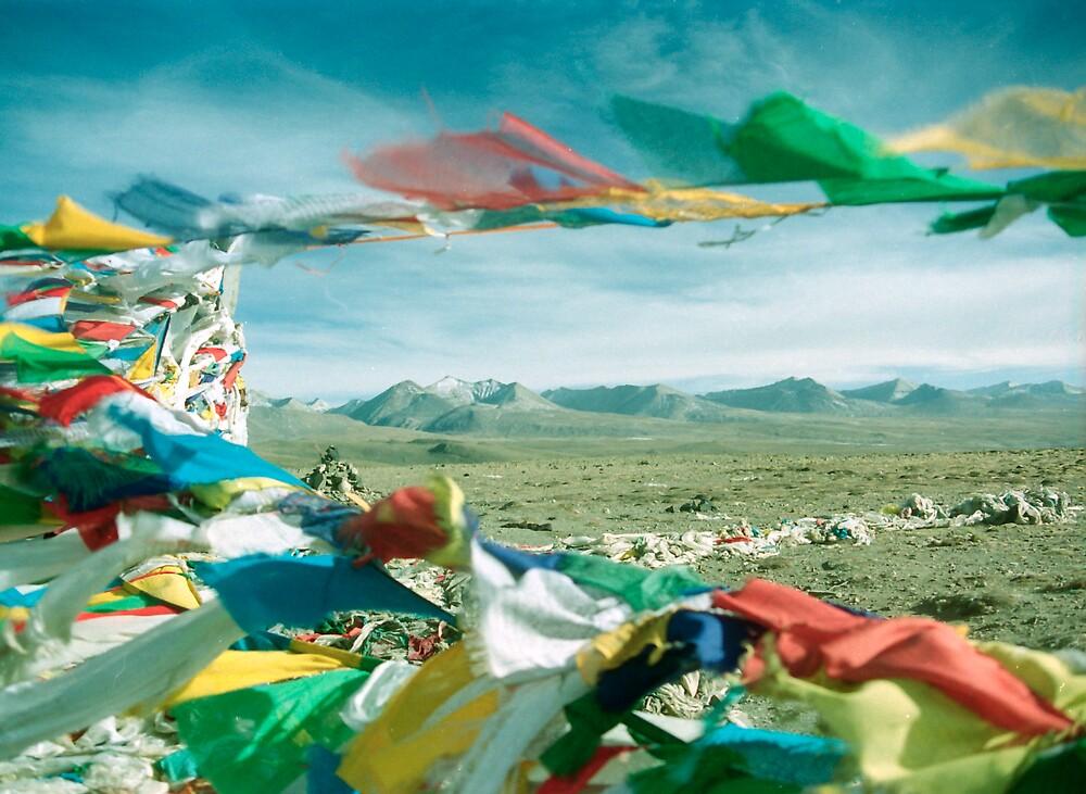 Prayer Flags by Bernard Bonnici