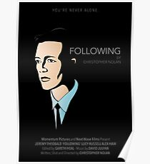 Following (1998) Poster Poster