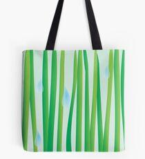 Raindrops on Grassblades Tote Bag