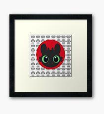 Toothless V.2 Framed Print