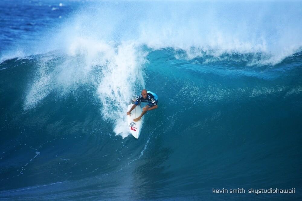 Kelly Slater  Banzai Pipeline by kevin smith  skystudiohawaii