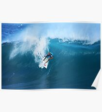 Kelly Slater  Banzai Pipeline Poster