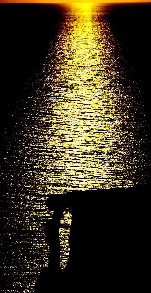 Coastal Sunset Malta by Bernard Bonnici