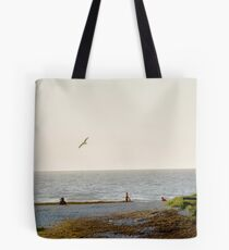 Semaphore Beach Tote Bag