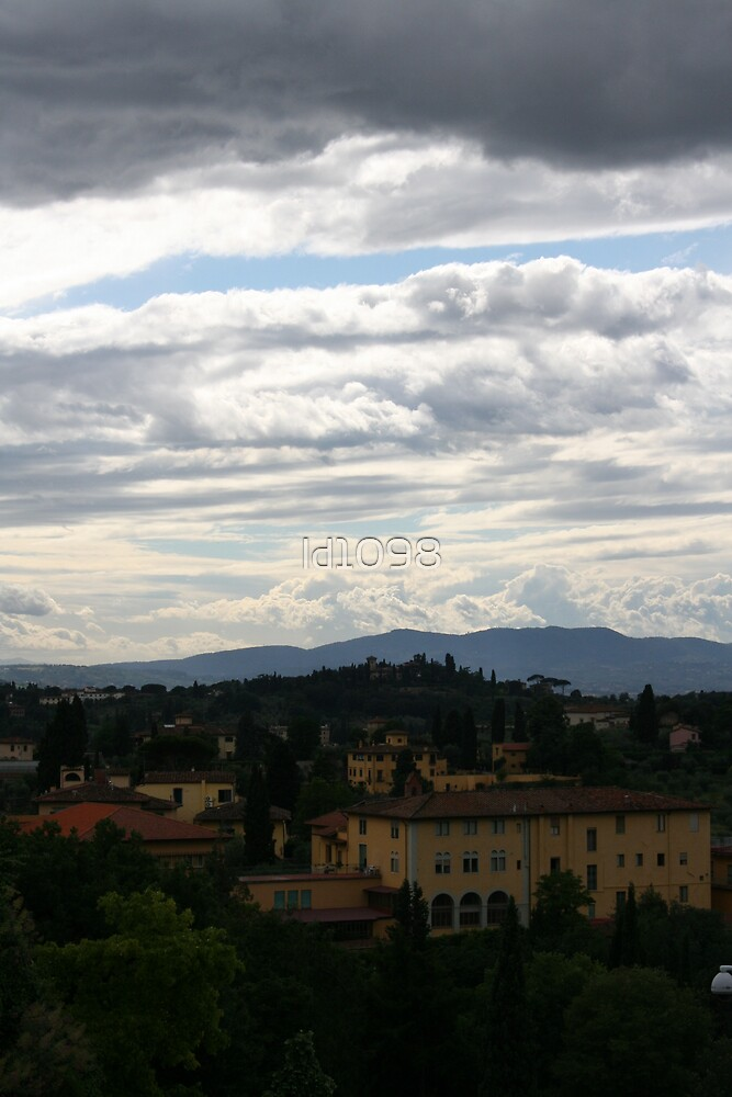 Florence Hillside by ld1098