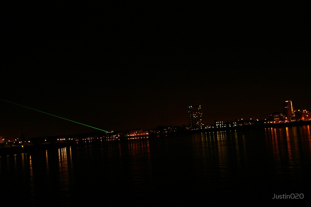 London Docklands by Night by Justin020