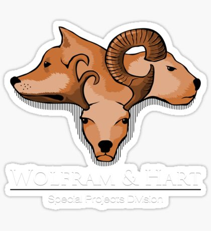 Wolfram and Hart - Angel Sticker