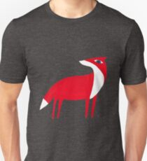Fox pattern Unisex T-Shirt