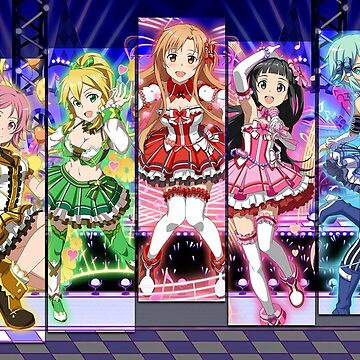 Sword Art Online Girl Group by TheSacredGamer1