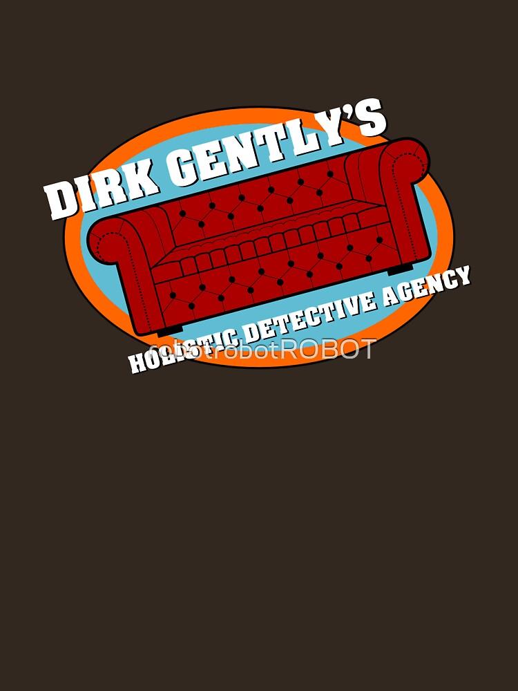Dirk Gently's Holistic Detective Agency Logo by robotrobotROBOT
