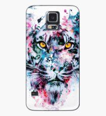 Tiger Blue Case/Skin for Samsung Galaxy