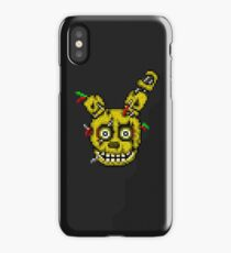 Five Nights at Freddy's 3 - Pixel art - SpringTrap iPhone Case