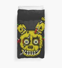 Five Nights at Freddy's 3 - Pixel art - SpringTrap Duvet Cover