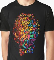 Bill Murray Stained Glass Mosaic Sharpie Marker Art Redbubble Graphic T-Shirt