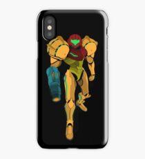Samus Aran - Metroid Vector iPhone Case/Skin