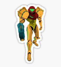 Samus Aran - Metroid Vector Sticker