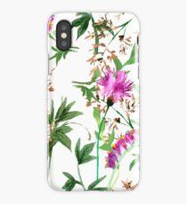 Wild flowers pattern   iPhone Case/Skin