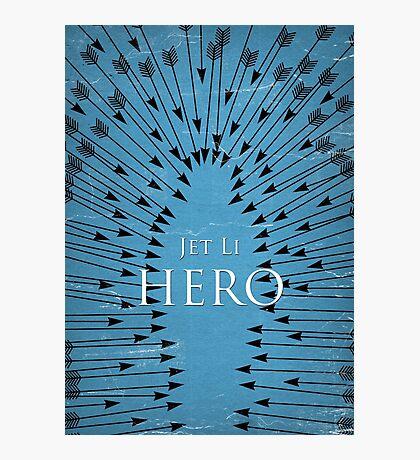 Hero - Blue Photographic Print