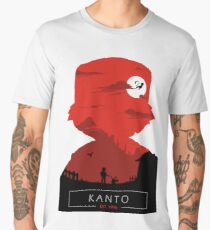 Welcome to Kanto- Red vers. Men's Premium T-Shirt