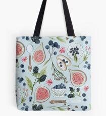 Blueberry Breakfast Tote Bag