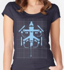 Blueprint Racing Drone Women's Fitted Scoop T-Shirt