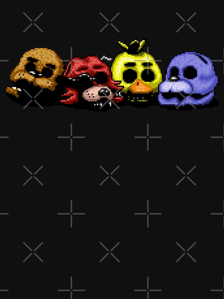Five Nights at Freddy's 3 - Pixel art - Good Ending by GEEKsomniac
