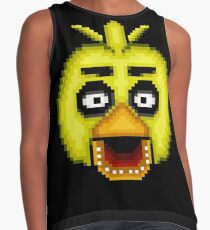 Five Nights at Freddy's 1 - Pixel art - Chica Contrast Tank