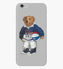 POLO STADIUM BEAR iPhone Case