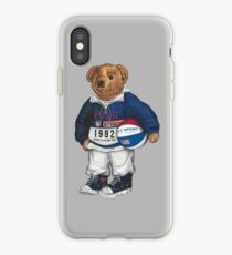 POLO STADIUM BEAR iPhone Case