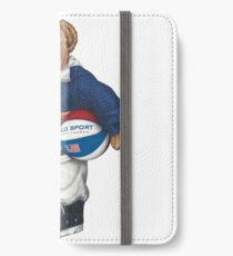 POLO STADIUM BEAR iPhone Wallet/Case/Skin