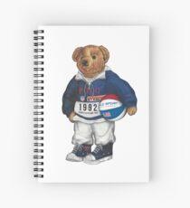 POLO STADIUM BEAR Spiral Notebook
