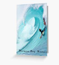 Waimea Big Wave Boogie T-Shirt Greeting Card