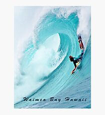Waimea Big Wave Boogie T-Shirt Photographic Print
