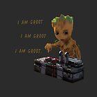 Baby Groot Death Button by CaptnBlackadder