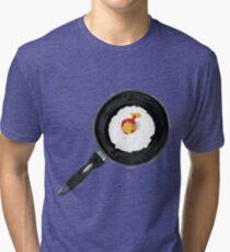 Fry The Globe Tri-blend T-Shirt