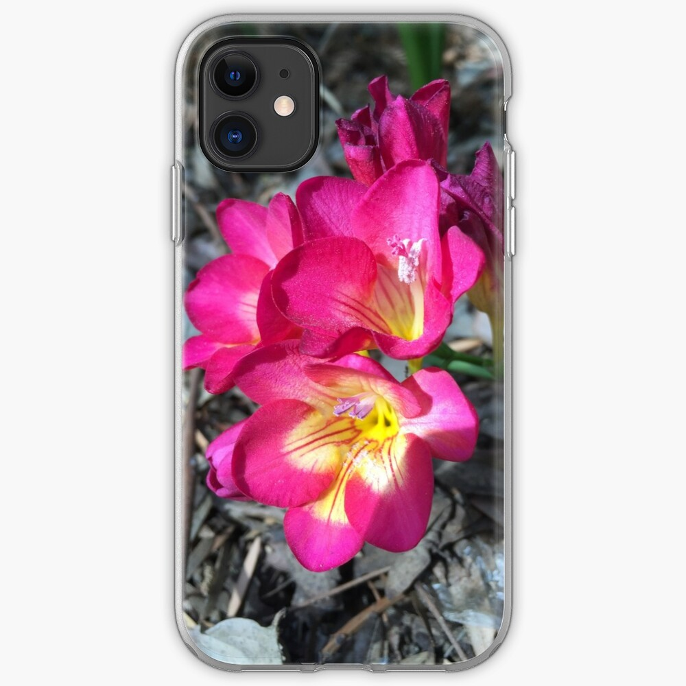 Freesia in the garden iPhone Case & Cover