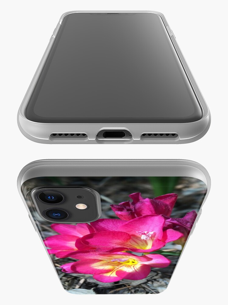 Alternate view of Freesia in the garden iPhone Case & Cover