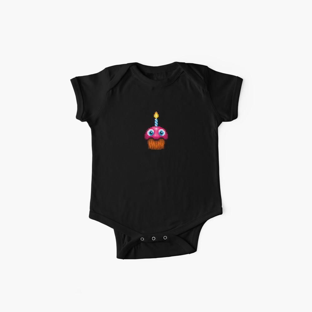 Fünf Nächte im Freddy's 2 - Pixel Kunst - Cupcake (kein Teller) Baby Bodys