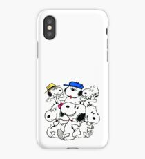 Snoopy's Family iPhone Case