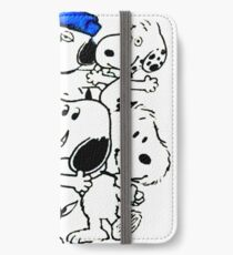 Snoopy's Family iPhone Wallet/Case/Skin