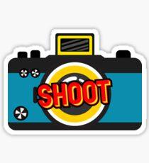 Color Shoot  Sticker
