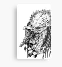The Wolf Predator Metal Print