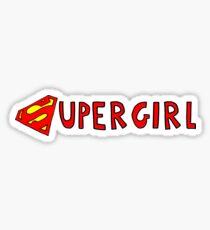 Supergirl logo  Sticker