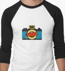 Color Shoot  Men's Baseball ¾ T-Shirt