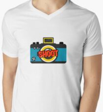 Color Shoot  Men's V-Neck T-Shirt