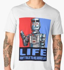 MARVIN THE PARANOID ANDROID - HITCHHIKERS GUIDE TO THE GALAXY Men's Premium T-Shirt
