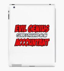 Evil Genius ... Accountant iPad Case/Skin