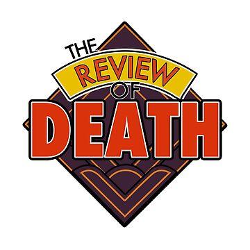 The Review of Death 'Diamond' Logo by GarrattJohn